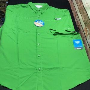 Columbia PFG Omni Wick UPF 40 XL shirt NWT O915